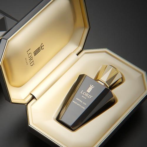 Luxury perfume box design