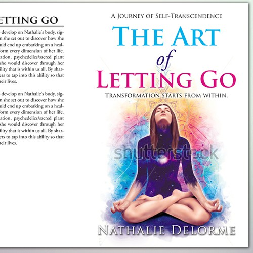 """Book Cover Concept for """" The Art of Letting Go"""""""