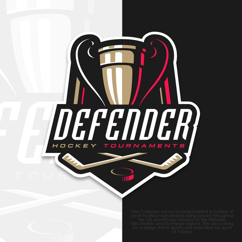 Hockey tournament logo