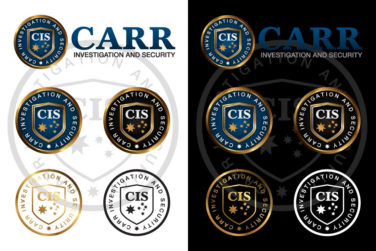 Create the next logo for C.I.S with Carr Investigation and Security