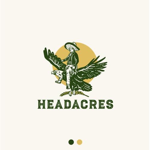 Logo for Headacres ~ family grain farm
