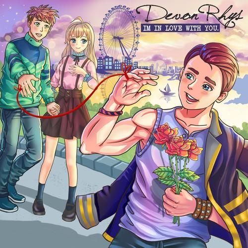 Anime Album Cover