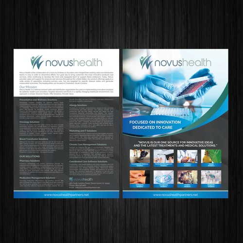 Novus Health Flyer