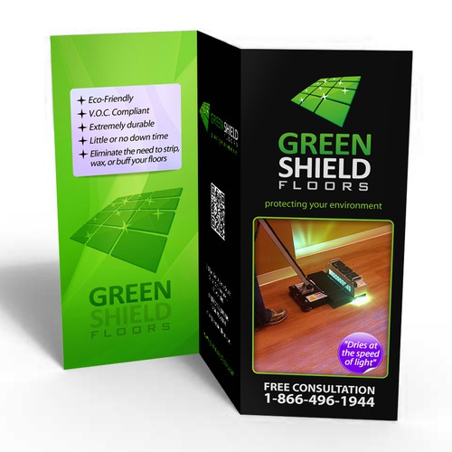 Guaranteed: Create the next brochure design for Green Shield Floors (mockups provided)