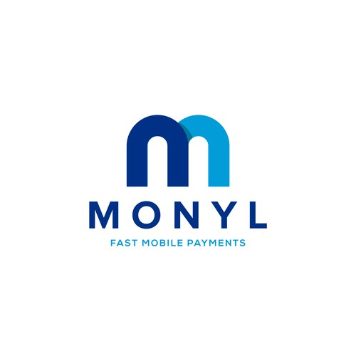 Bold and Clean Logo for MONYL Payments