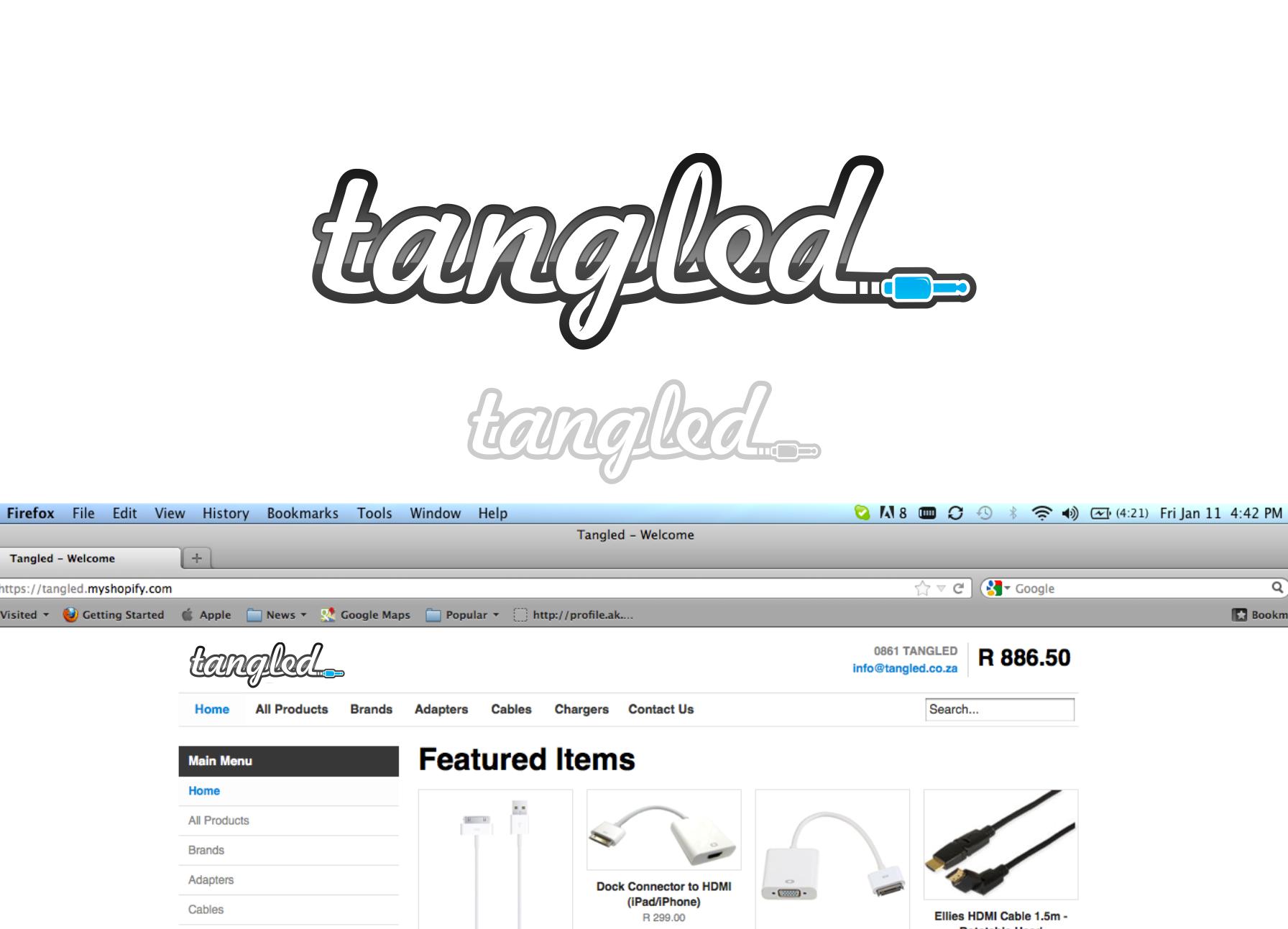 Tangled needs a new logo