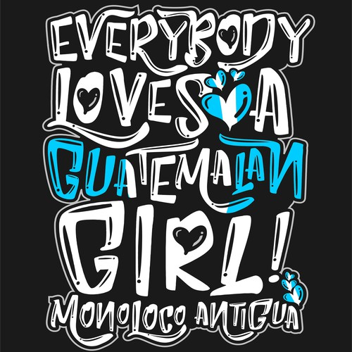 T-shirt Concept for Monoloco Antigua