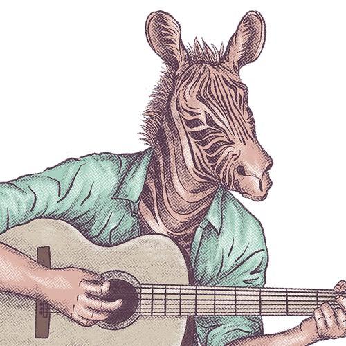 Musical Guitar Shirt