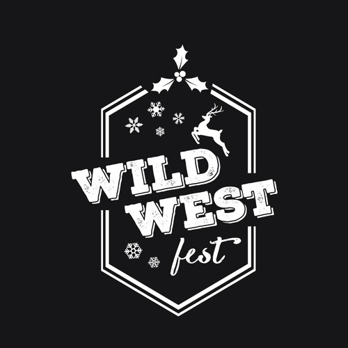 Wild West Fest Badge Concept