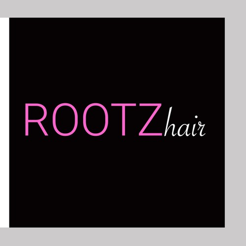 logo design for hair dye