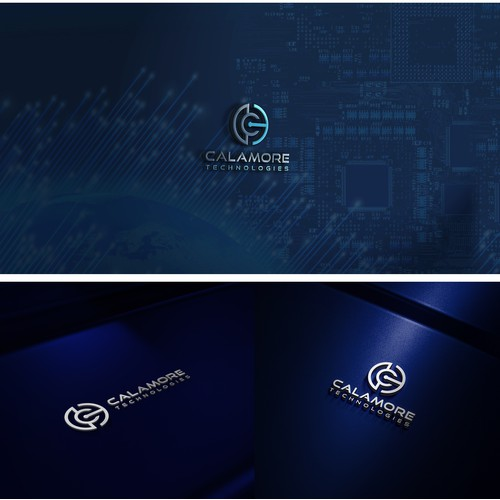 Cyber Security Technology Brand Logo