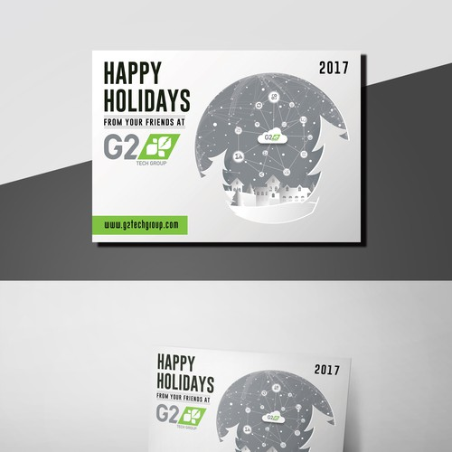 Create an awesome holiday card for G2 Tech Group