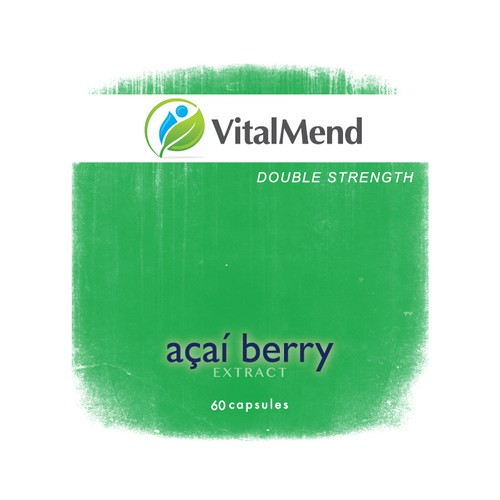 Create the next product label for Vital Mend