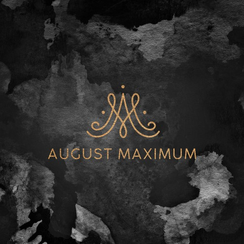 Logo concept for fashion brand August Maximum