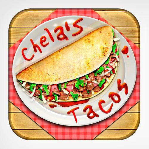 Chela's Tacos iOS App Icon