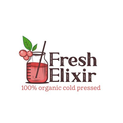 Elixir juice logo