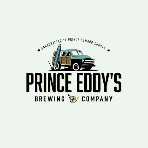 Logo for a craft brewery in Prince Edward County, Ontario.