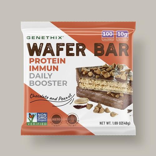 Genethix Wafer Bar Packaging