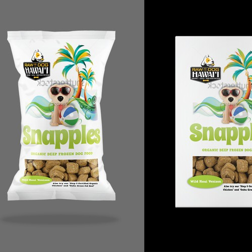 Package Raw Dog food
