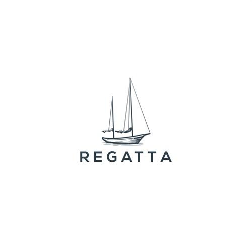Logo concept for Regatta