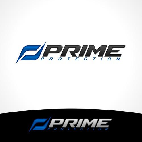 Logo for protective gear company