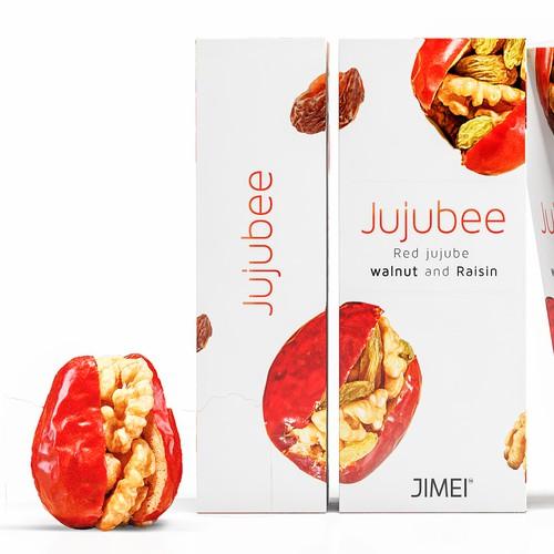 Jujubee Minimal packaging.