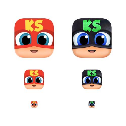 Kid's app icon