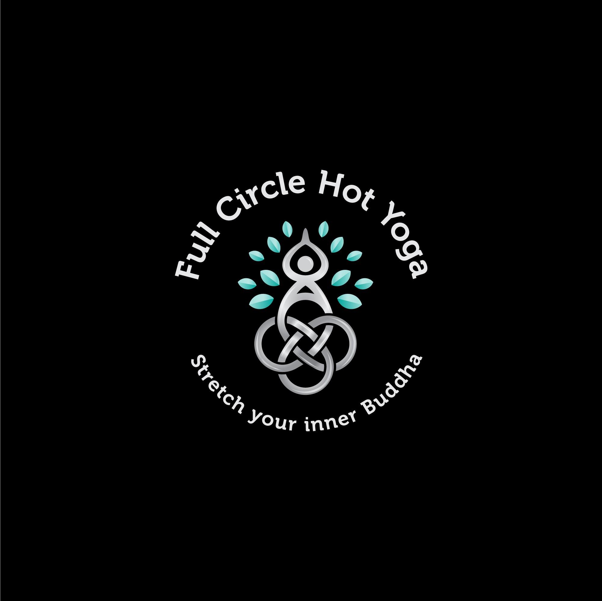 Celtic Dara Knot design logo for Hot Yoga Studio