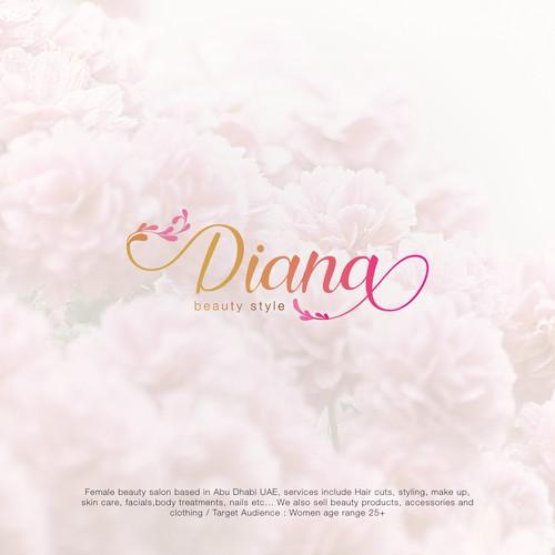 Logo Concept for Diana - Beauty Salon