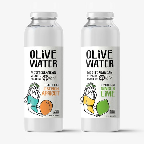 Label for a new healthy drink