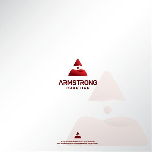 3D Logo for ARMSTRONG ROBOTICS