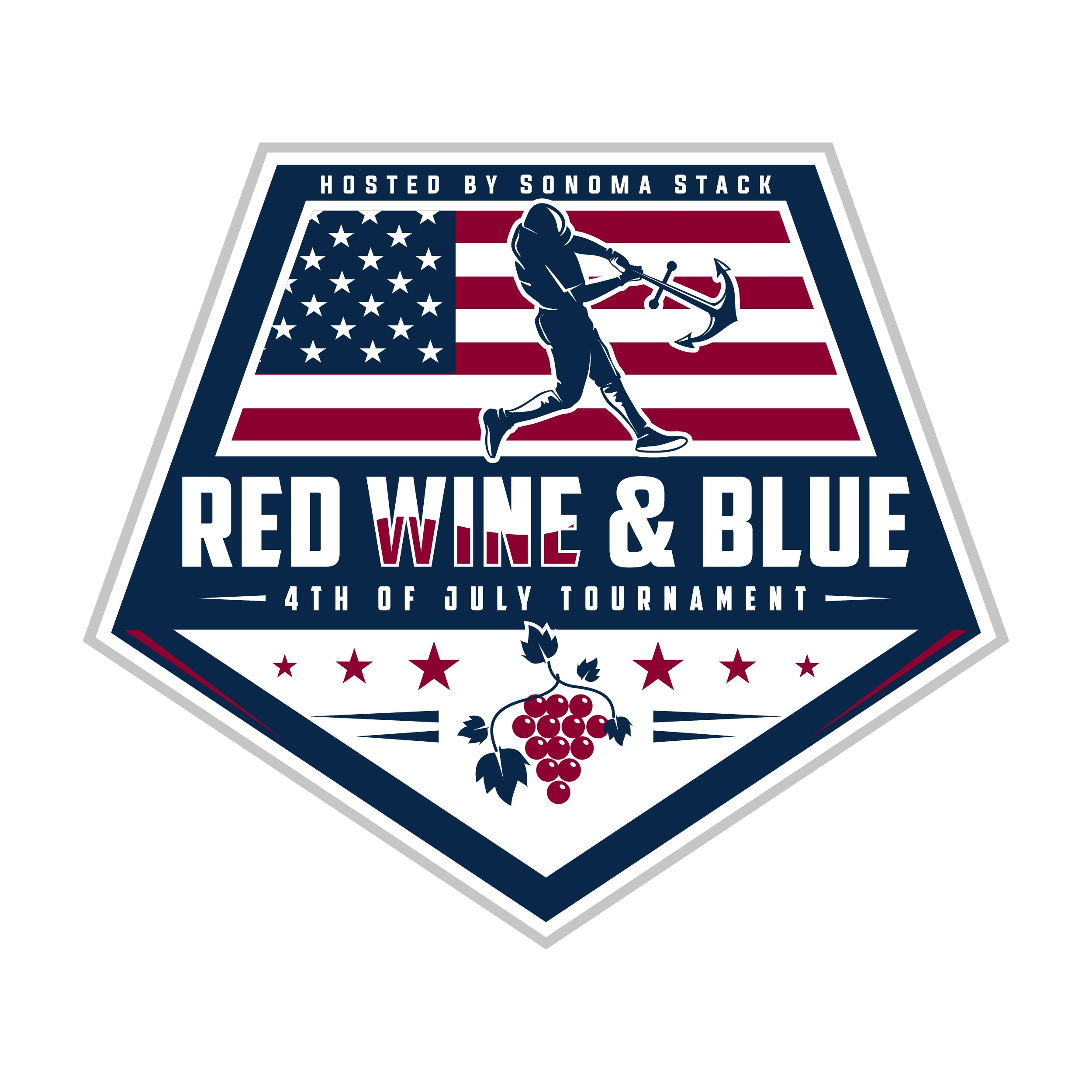 Fourth of July Baseball Tournament in Wine Country!