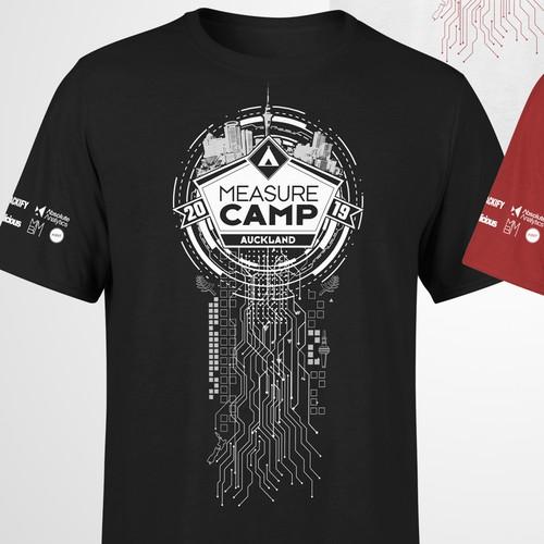 Measure Camp 2019 - Tshirt Design