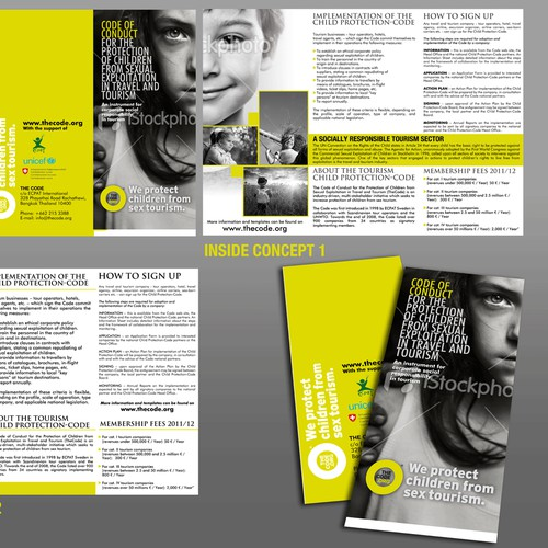 The code.org Trifold Brochure