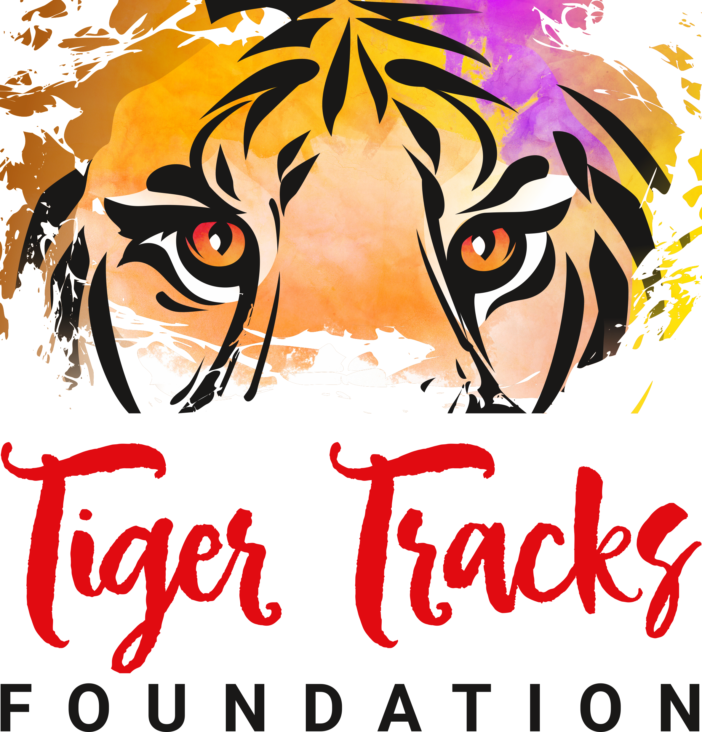 Dancing with the Cubs logo and Tiger Tracks logo