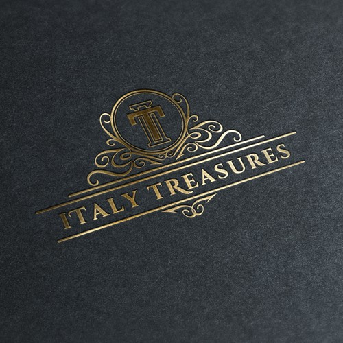 Classic logo for Italy Treasures