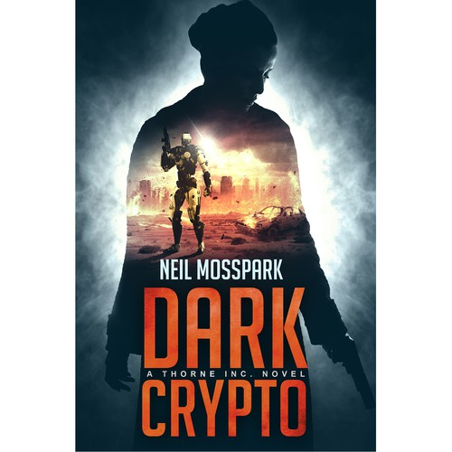 'Dark Crypto' book cover