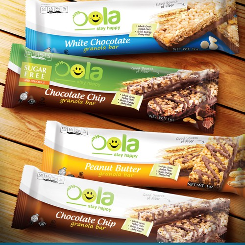 Packaging For Oola Granola Bar