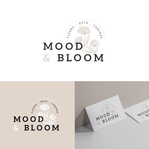 Mood & Bloom - logo