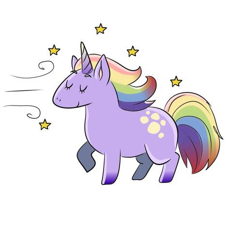 Unicorn character