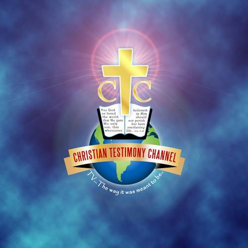 Logo design for the Christian Testimony Channel.