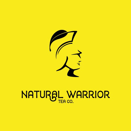 Negative Space Warrior logo