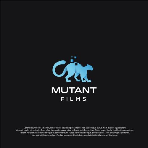 logo concept for mutant films
