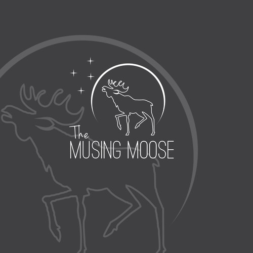 The Musing Moose Logo
