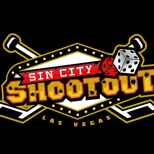 Vegas hockey tournament logo