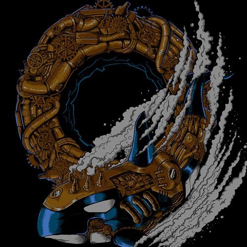 Steampunk Orca