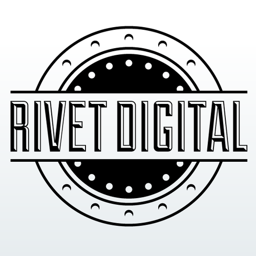 Rivet Digital logo design