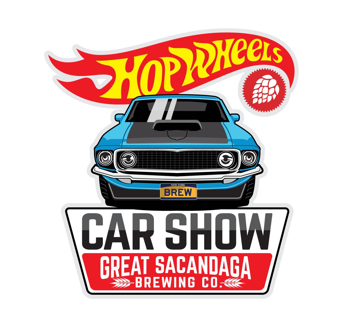 Colorful Car Show Logo