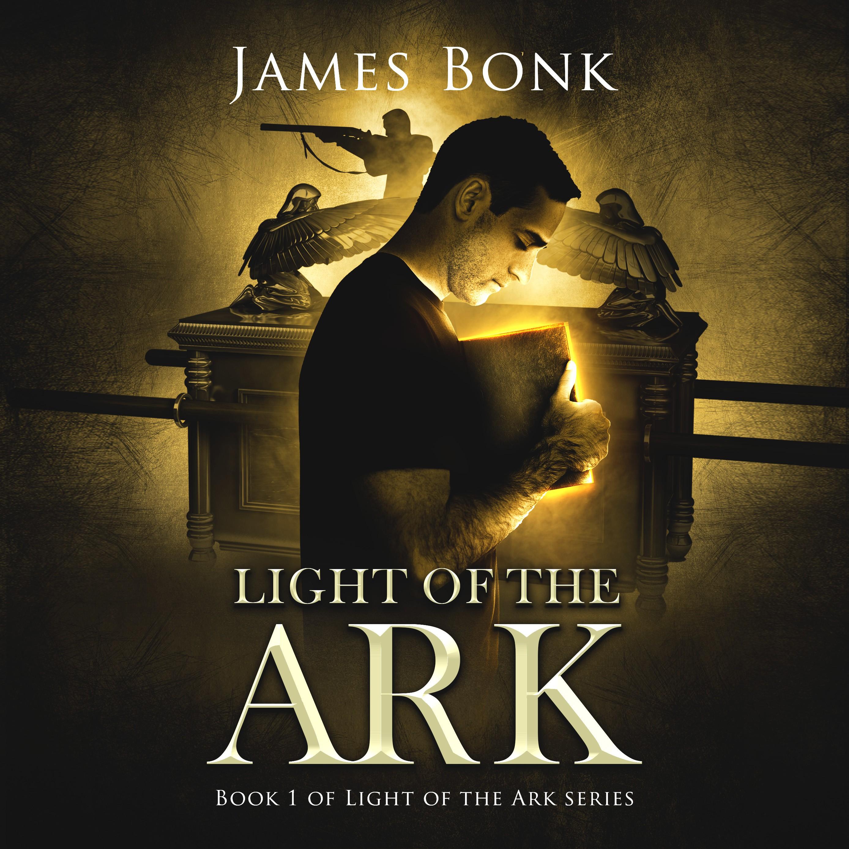 """Book Cover, Christian Suspense, """"Light of the Ark"""""""