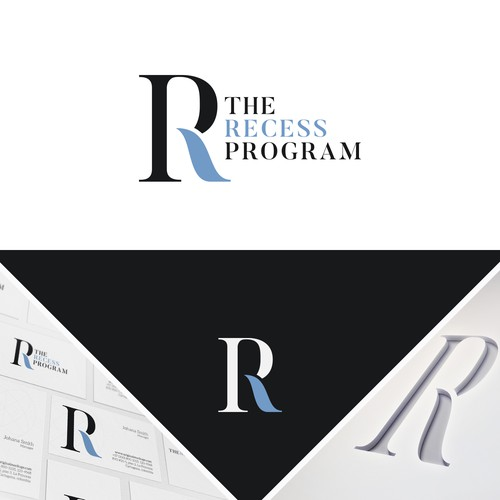 The Recess Program Logo design